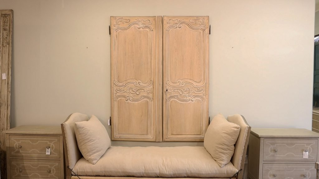 A space at Village antiques before undergoing a makeover by Amitha Verma.